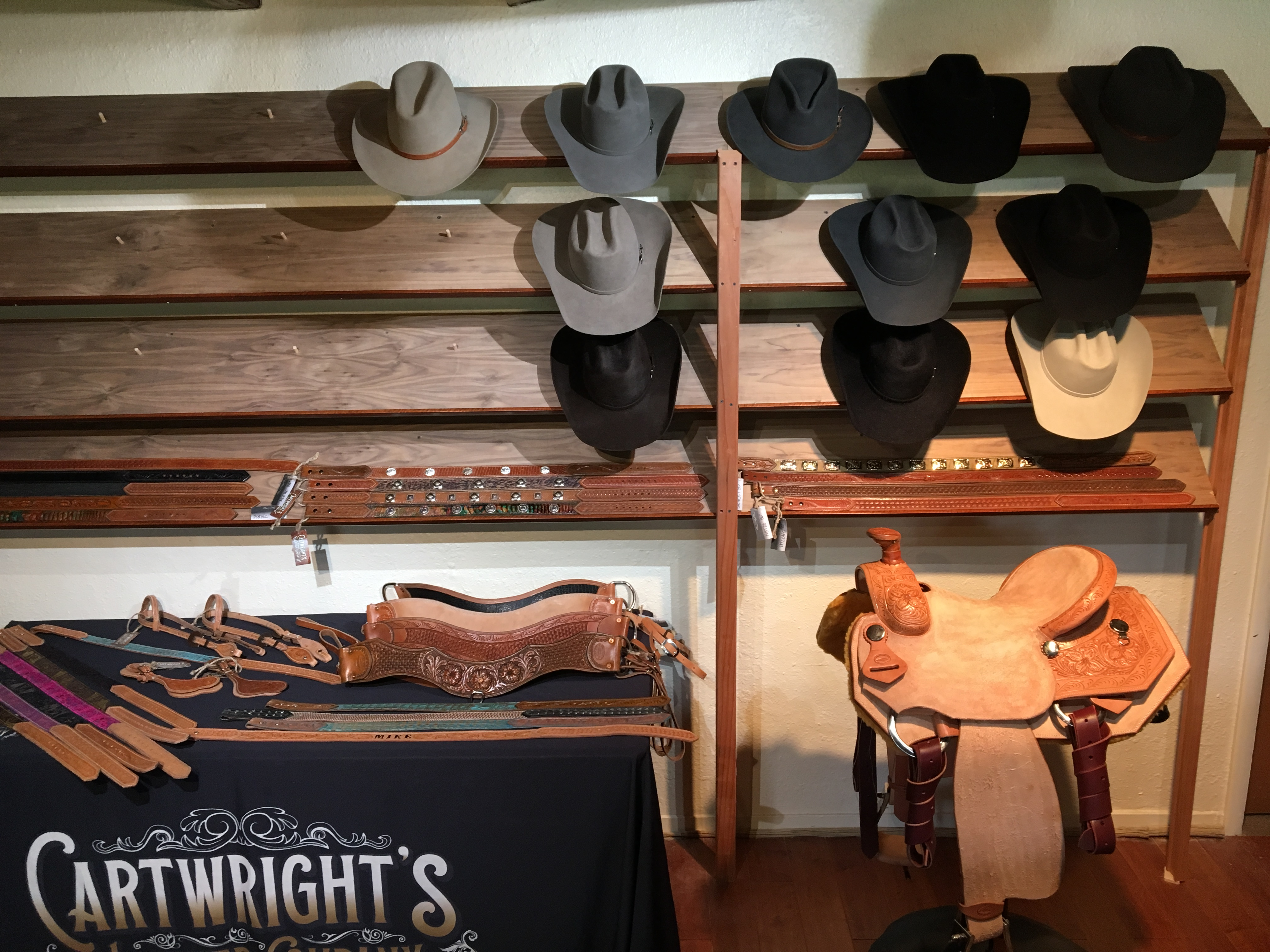 Cartwright's Leather Company & Diamond H Custom Hats in Cave Creek & Carefree, meet the Director-Artist in Residence Clint Herring