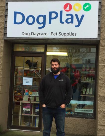 Dogplay In Marpole Meet The Owner Darryl Halse Parkbench