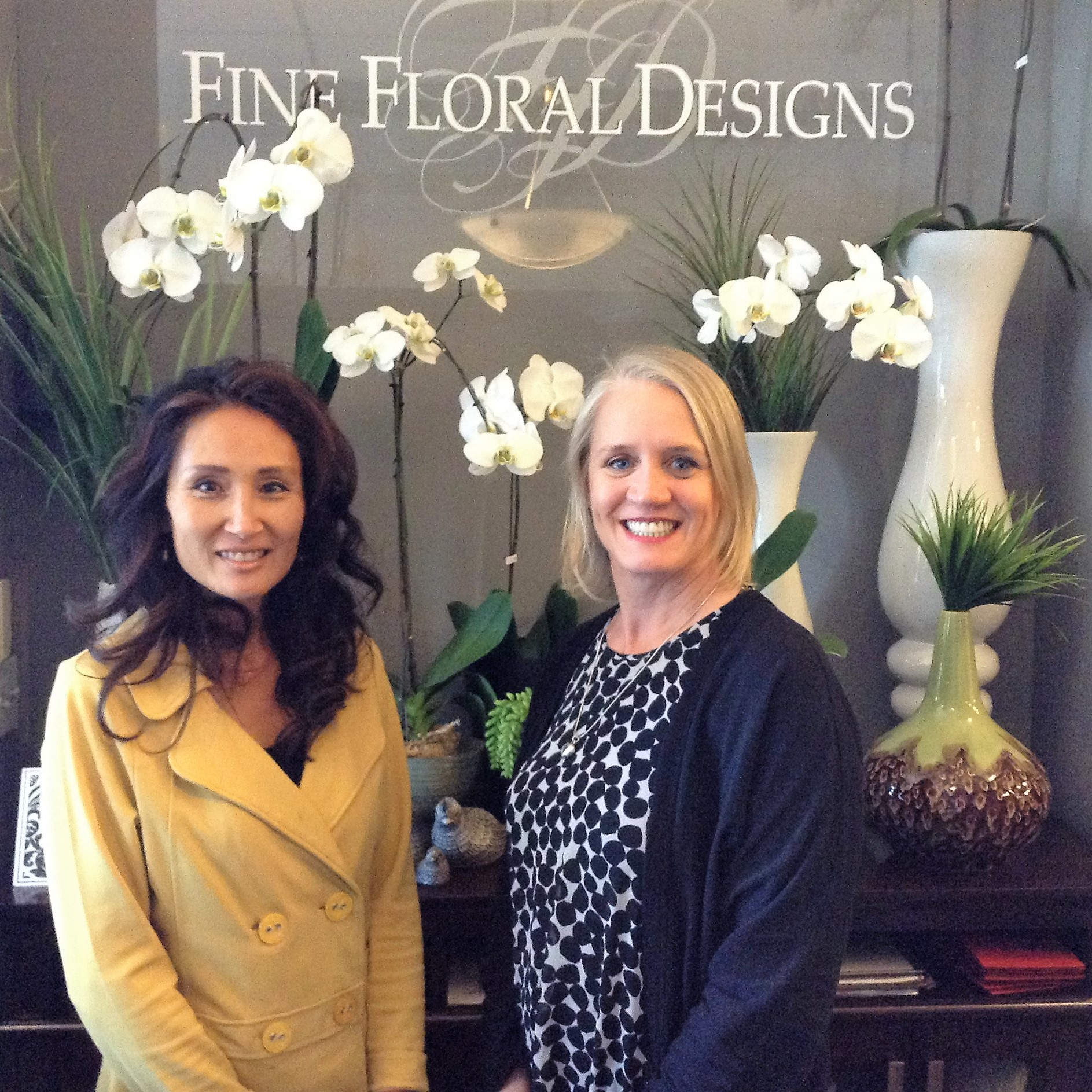 Fine Floral Designs in James Bay. Meet the Owner/Operator Jane Brajkovic!