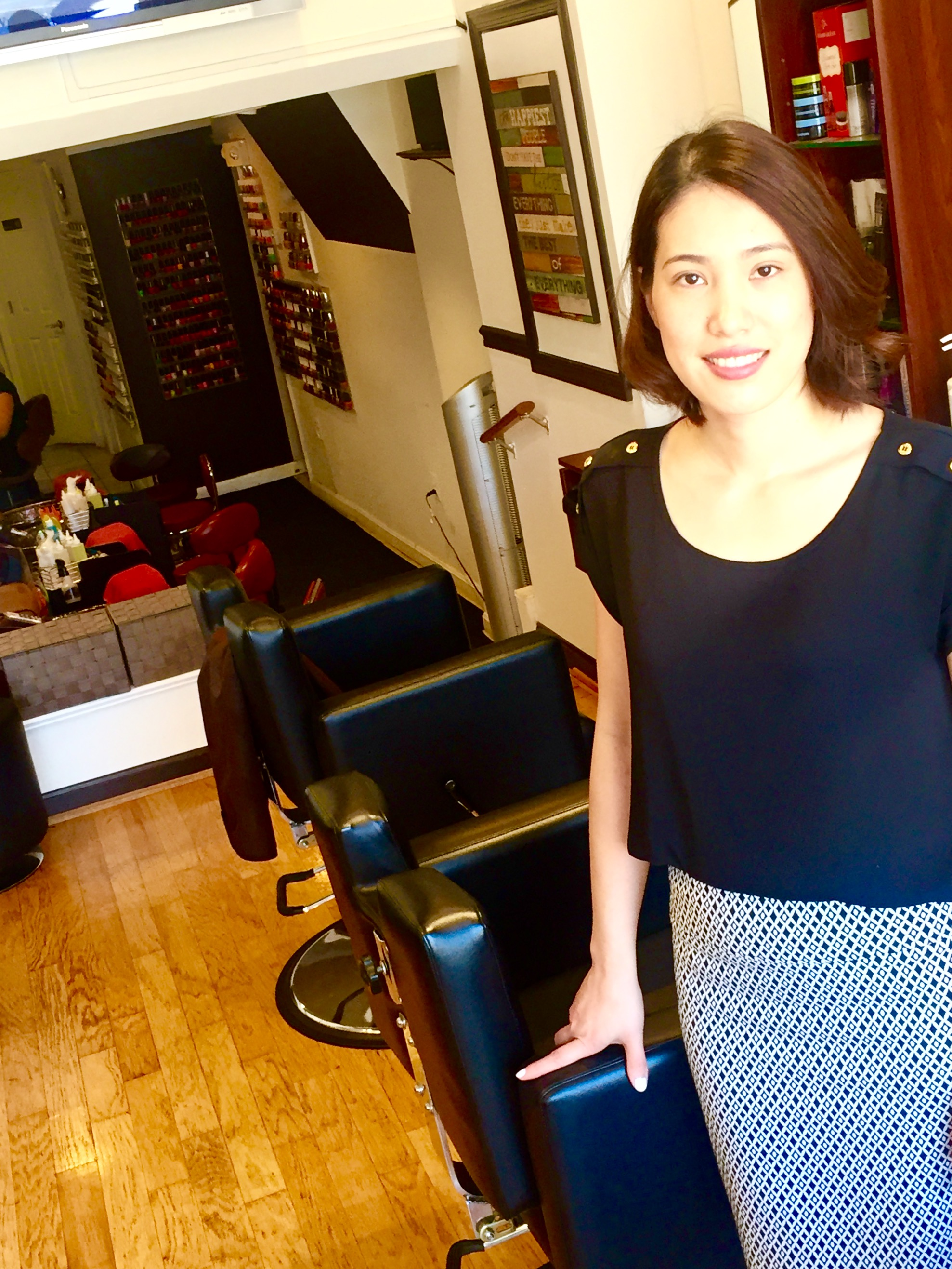 Color Touch Hair and Nails in Crystal City and Pentagon City, meet the Manager Tracy Nghiem
