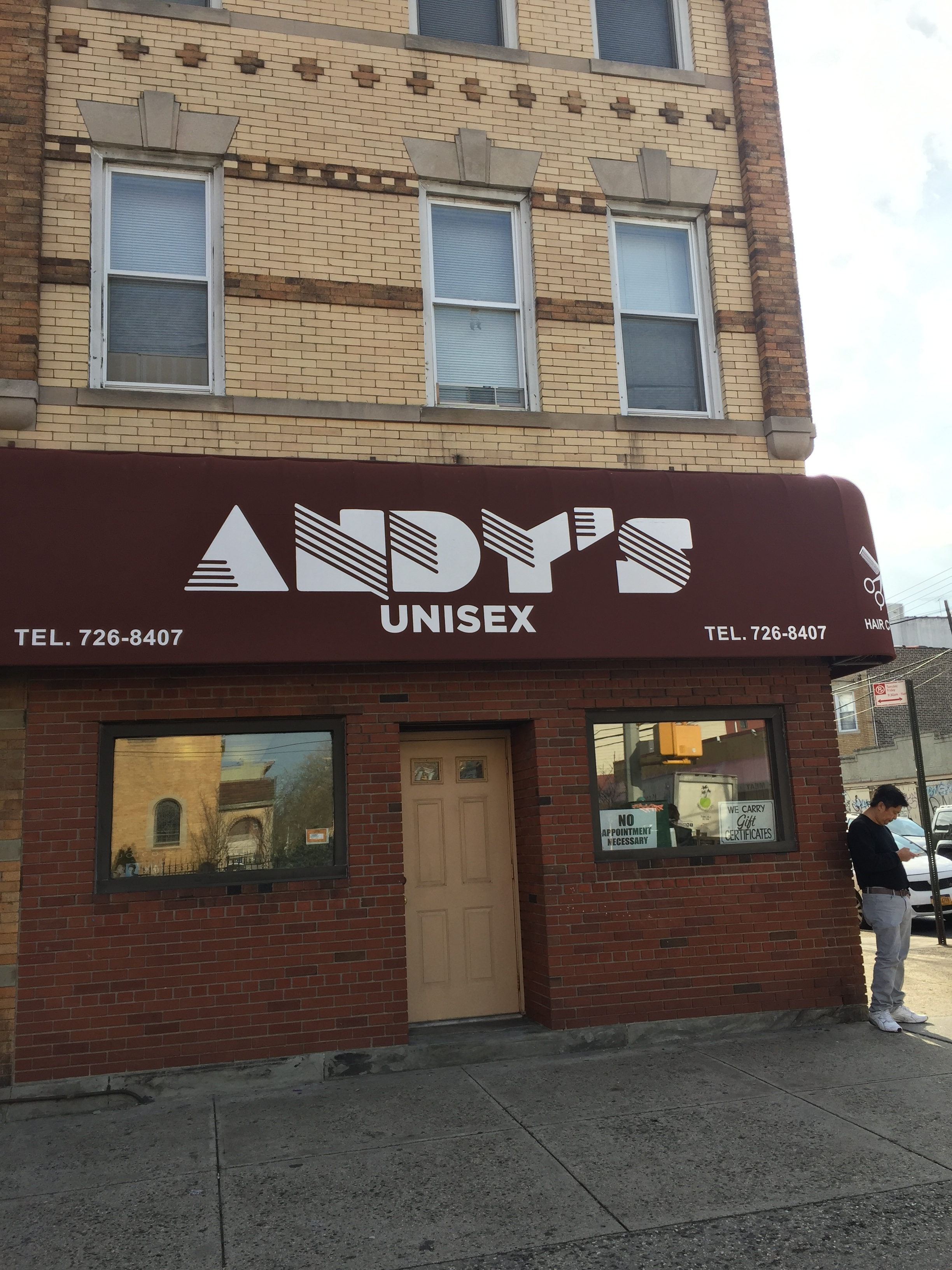 ANDY UNISEX HAIR SALON in East Astoria, NY, meet the OWNER Andi Messina