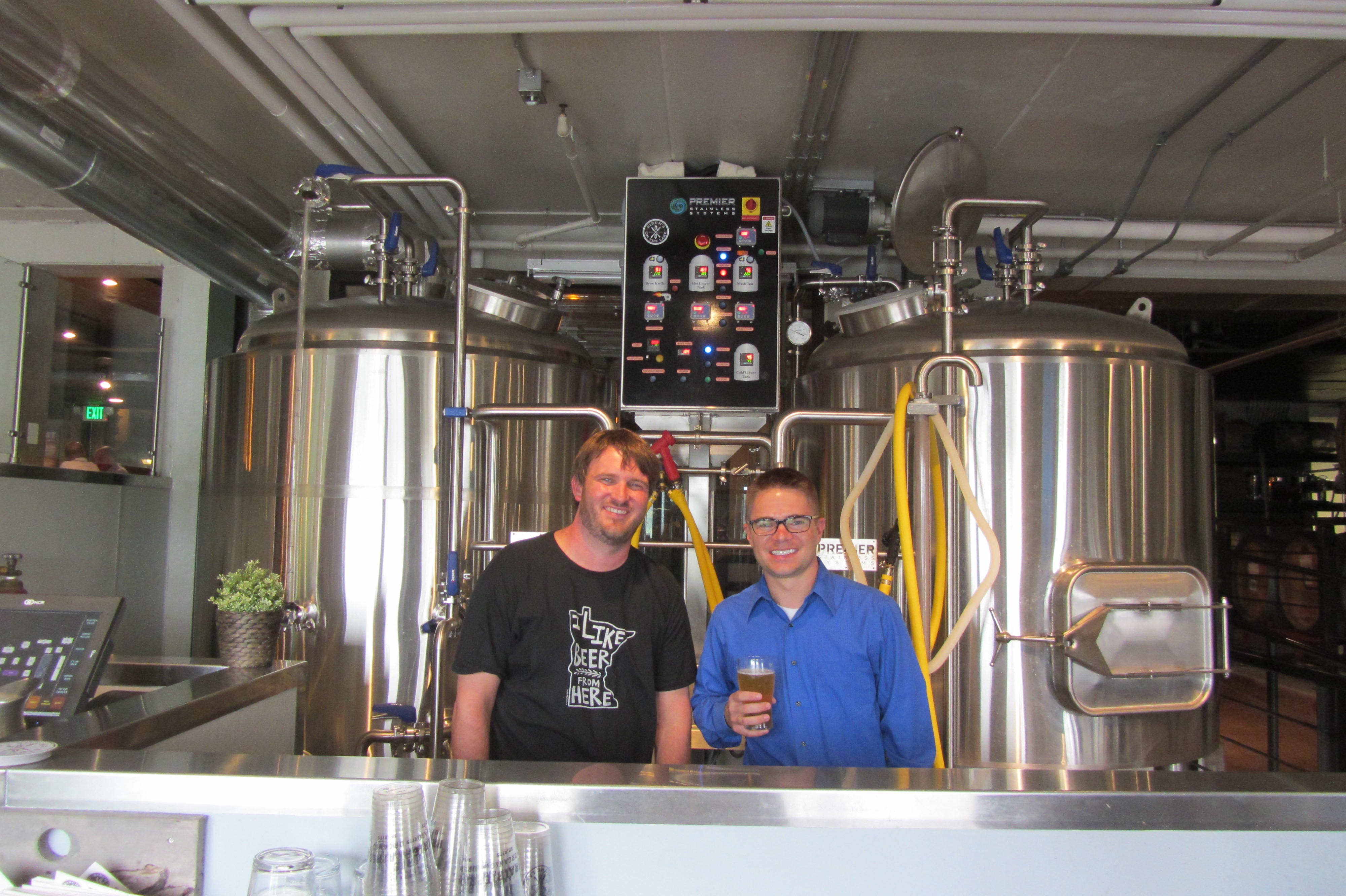 Birch's on the Lake in Long Lake, meet the Brewmaster/Owner Brennan Greene
