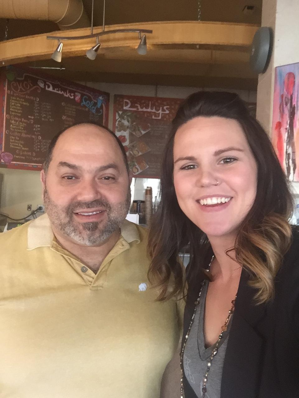Tito's Bistro and Cafe in Grande Prairie, AB, meet the Owner Mazen Assaf