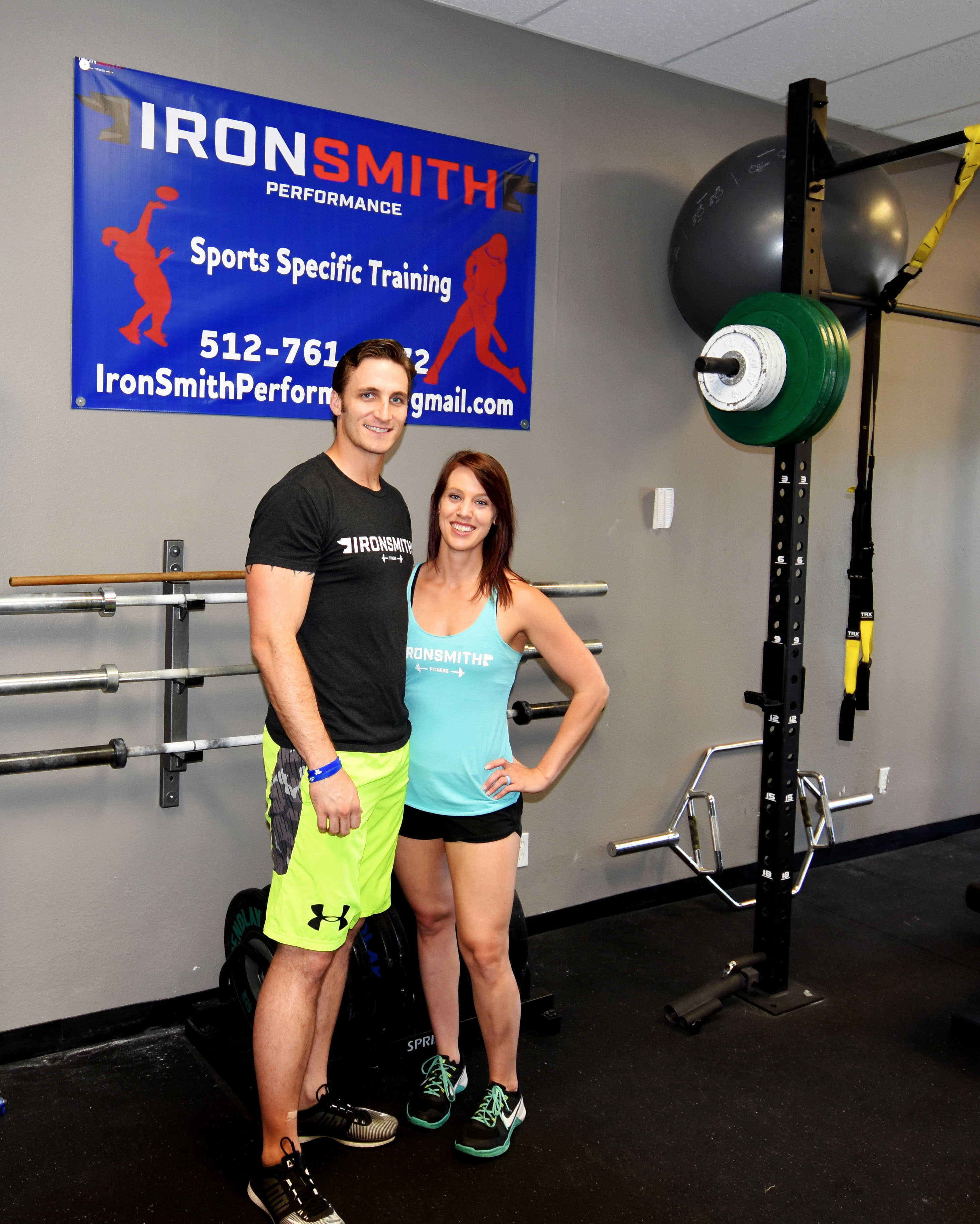 Iron Smith Fitness in Southwest Austin, meet the Owner Ryan and Sarah Smith