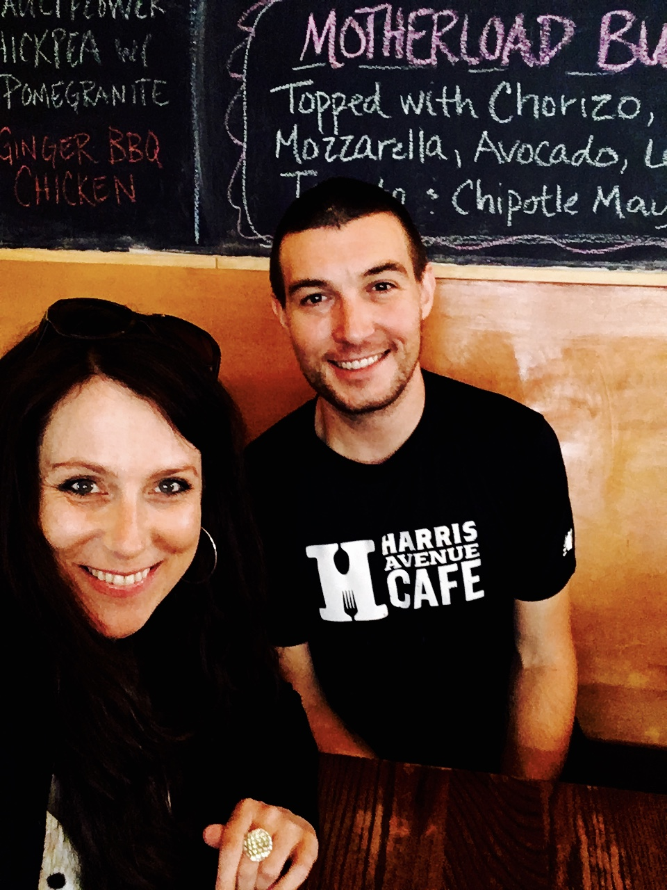 Catherine Witt interviews Harris Ave. Cafe and Tony's Coffee  Owner Nate Breaux in Bellingham WA