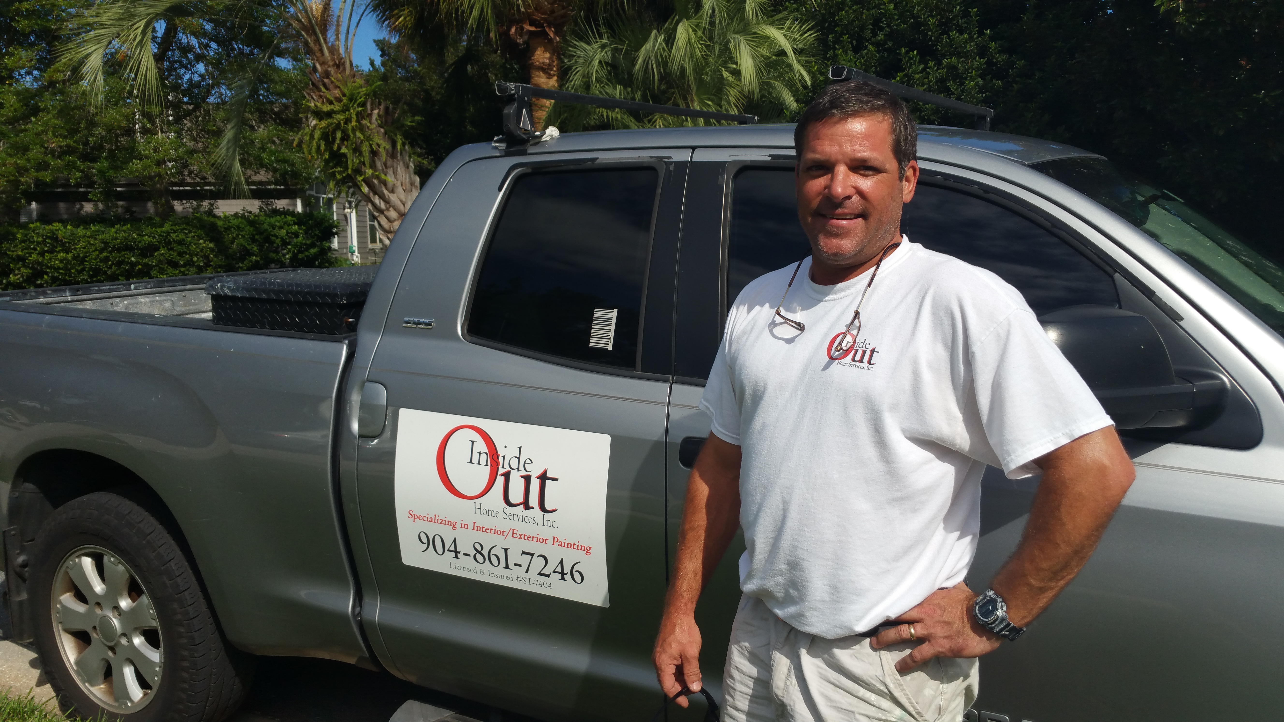 Inside Out Home Services, Inc.  interview with owner Bill Ashcroft, interior/exterior painting