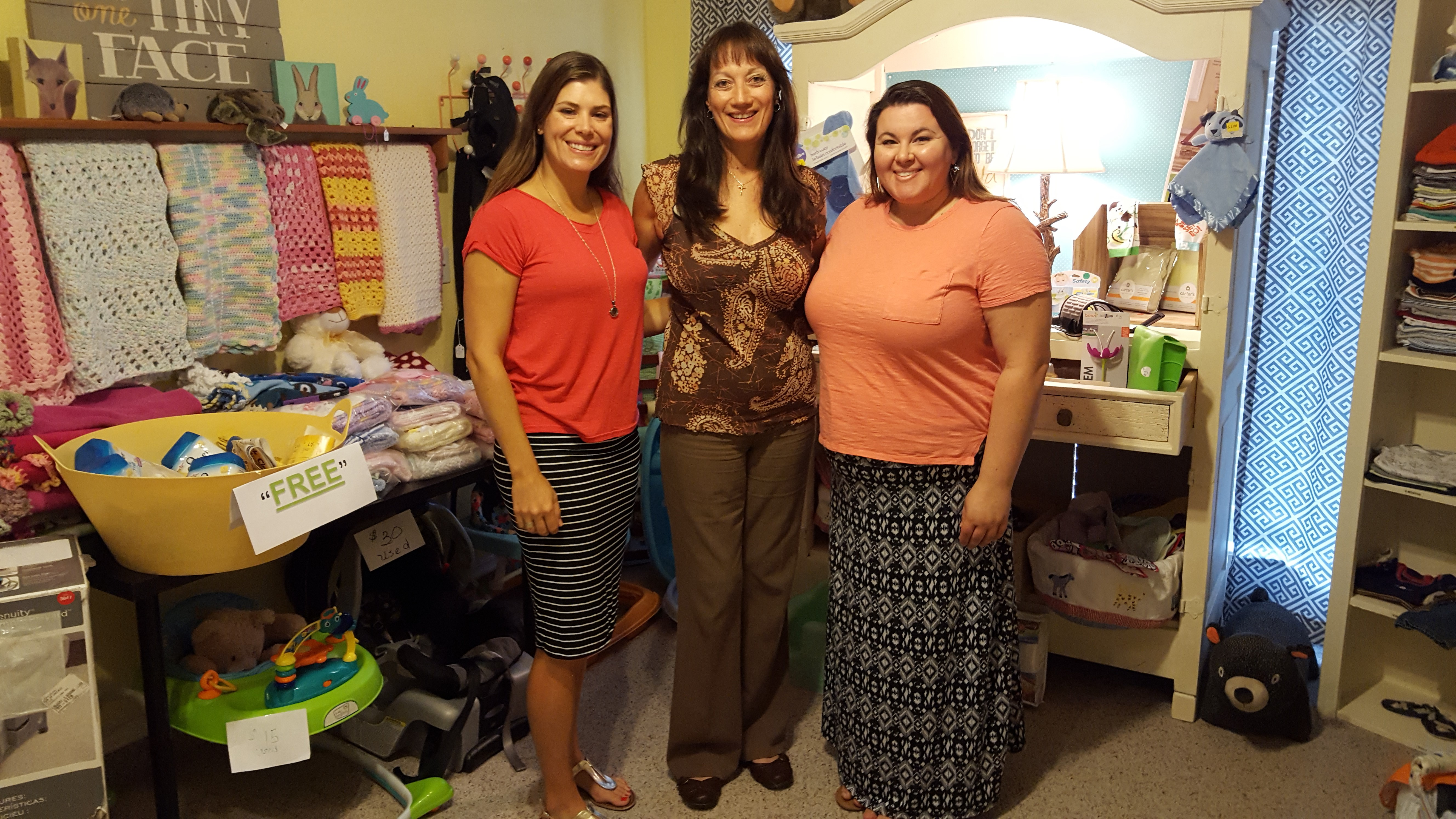Pflugerville Pregnancy Resource Center: meet Brittany and Carrie
