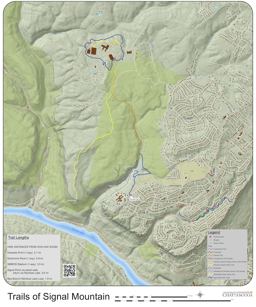 Trails Of Signal Mountain Map Now Available For Download