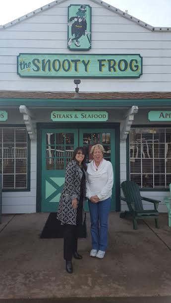 Snooty Frog Restaurant in Cameron Park. Meet the owner Michelle Schanel