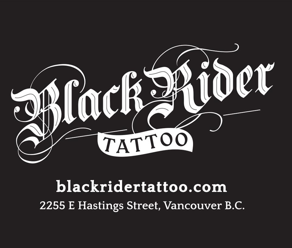 Black Rider Tattoo