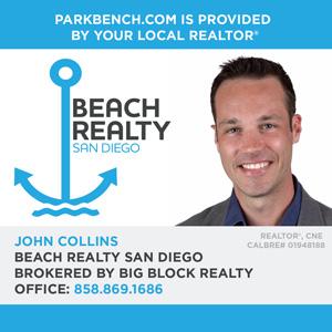 John Collins Pacific Beach ad