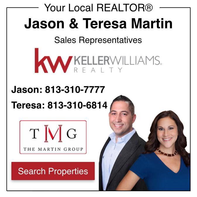 Jason & Teresa Martin New Tampa and Tampa Palms